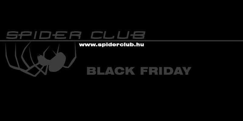 Black Friday a Spider Club shopban!